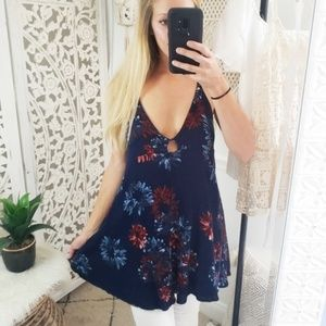 ⬇️ [Lulu's] Floral Tunic Top S